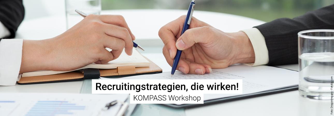 KOMPASS Workshops: Recruitingstrategien, die wirken